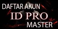 Daftar Akun ID PRO Master | ID Pro IDN Play Poker Online